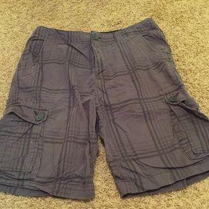 Soft cotton Cargo Shorts- EUC